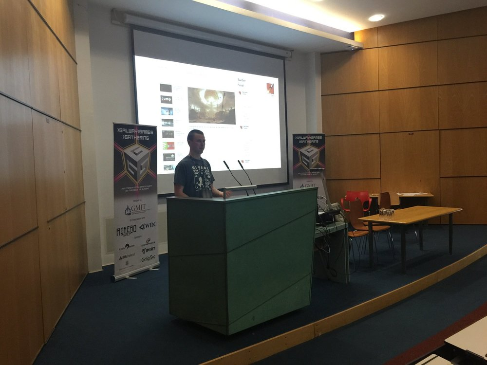 My talk at the Galway Games Gathering