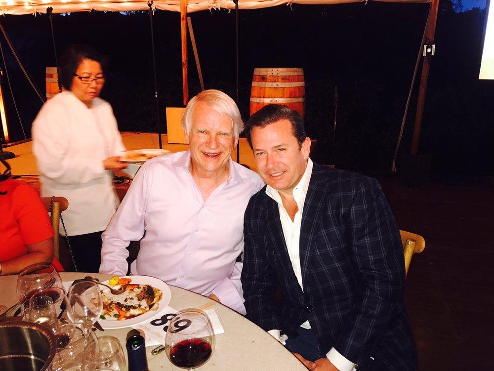 David House (Brocade Chariman / SVEF Board) & Dave Ferris (CEO - Ferris Capital)