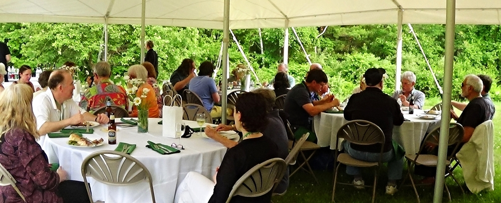 Friday's 2015 Opening Conference Dinner at the Robert Frost Farm Derry, NH
