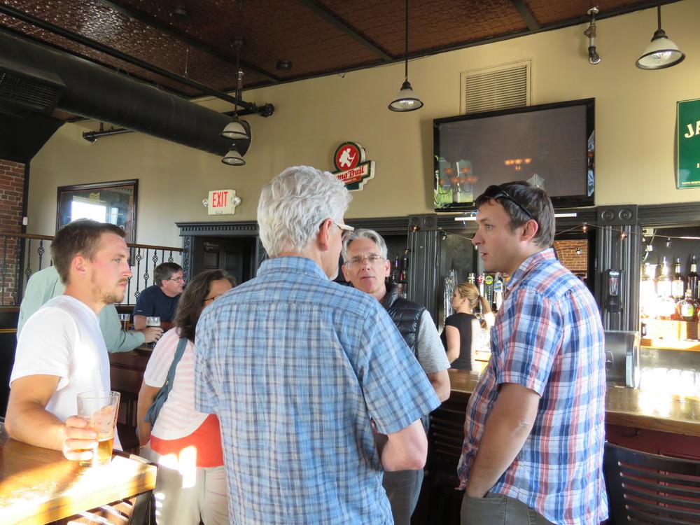 So, five poets walk into a bar...