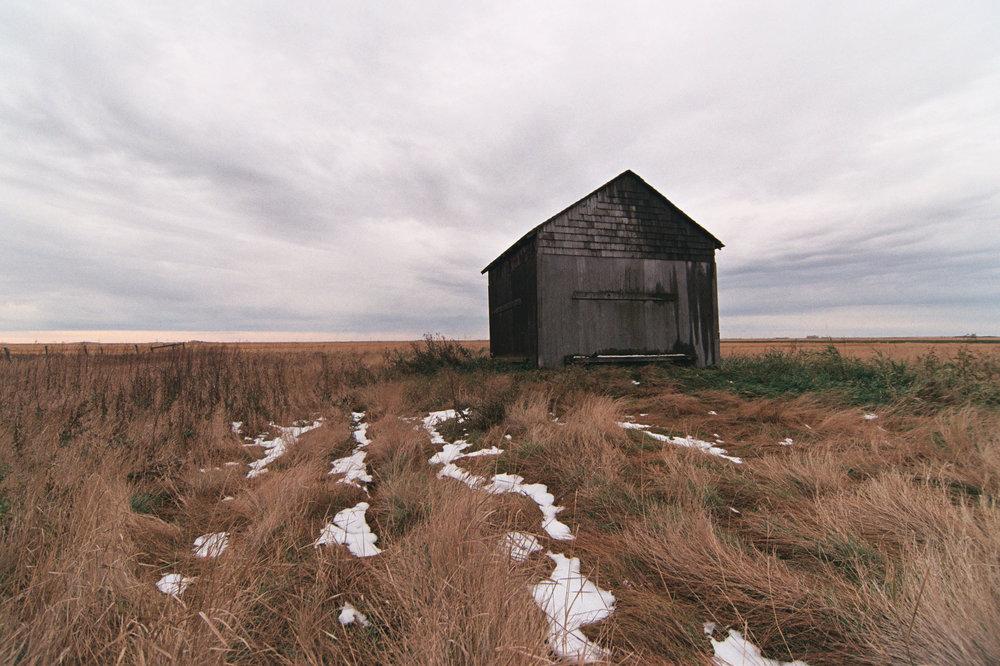 Lone Grain Bin | Rural Saskatchewan | Canon Elan II | Tokina 11-16 f/2.8 | AGFA Vista Plus 200