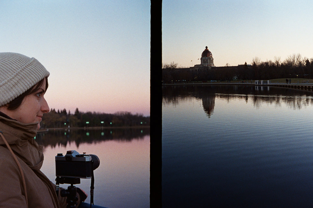 Shooting the super moon | Olympus Pen EE-S - Kodak Ultramax 400