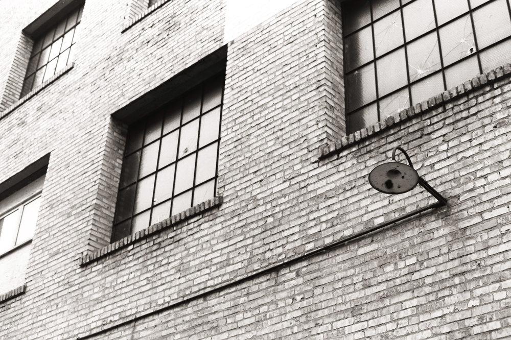 Warehouse | Nikon FM3A + Nikkor 50/1.2 | Ilford Delta 100