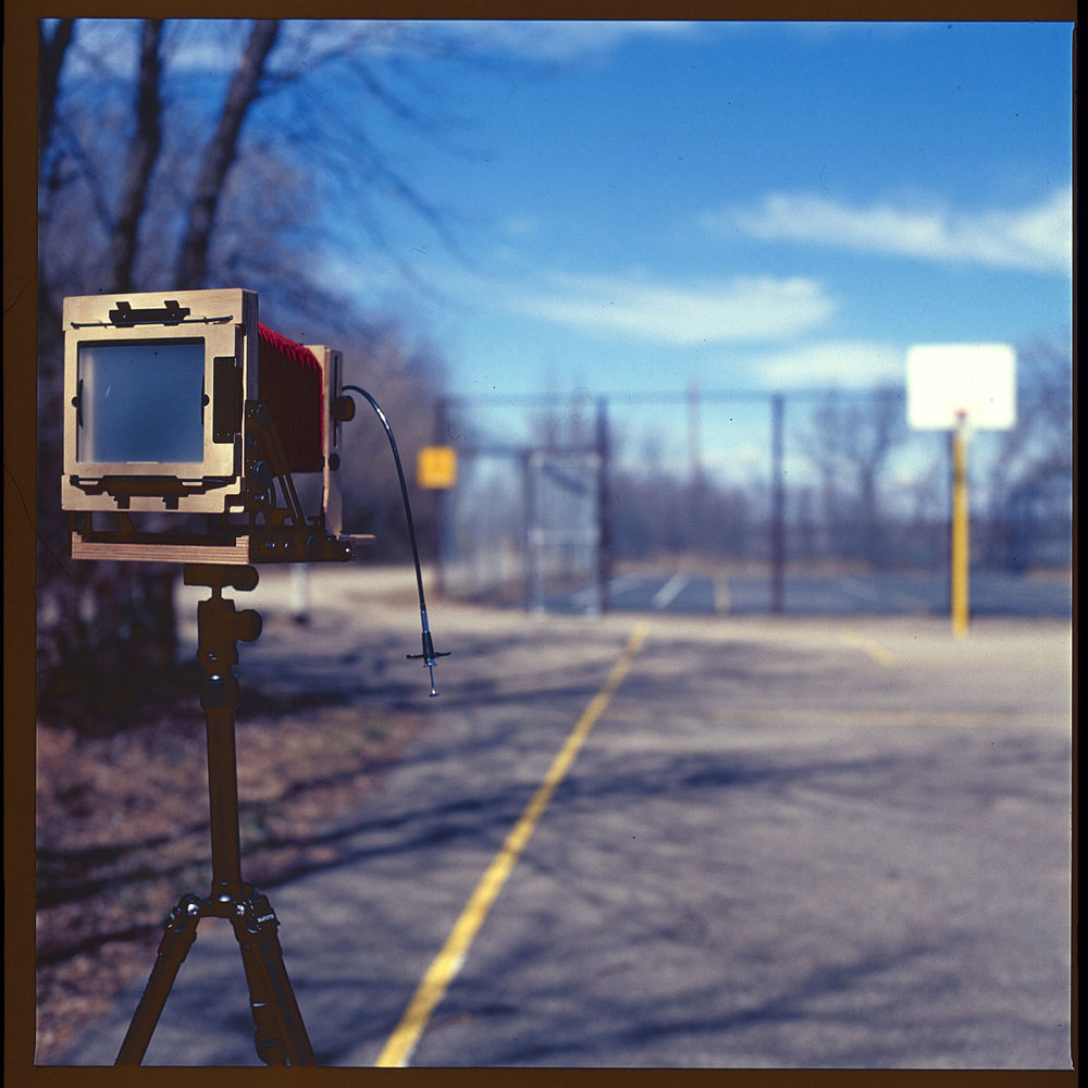 Intrepid Field Camera on a nice day  Hasselblad 500CM  Kodak E100VS