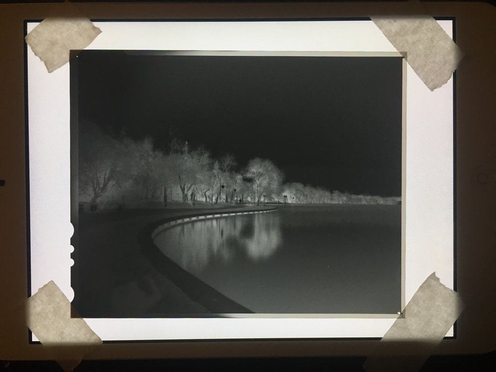 Intrepid pinhole lens on Ilford Delta 100 taped flat to my iPad mini. I've since drastically improved my post processing workflow, I promise.
