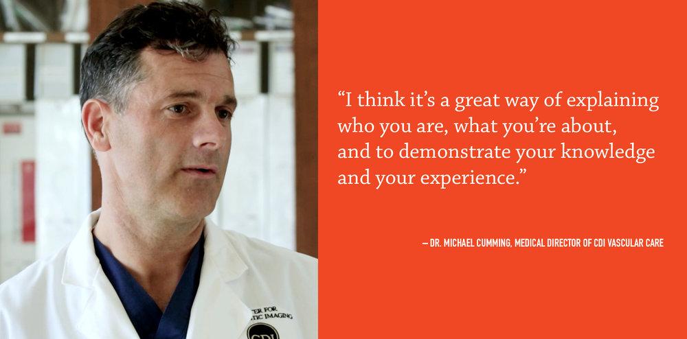 Dr. Cumming, CDI