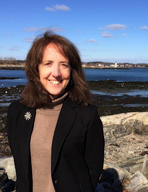 Jeannie MacDonald on the New Hampshire coast.