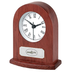 Rosewood Dome clock - $9