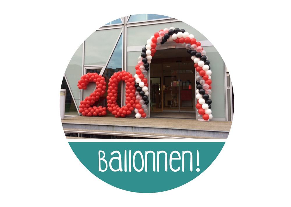 ballonnen versiering huren ballonnendecoratie antwerpen beveren Mortsel