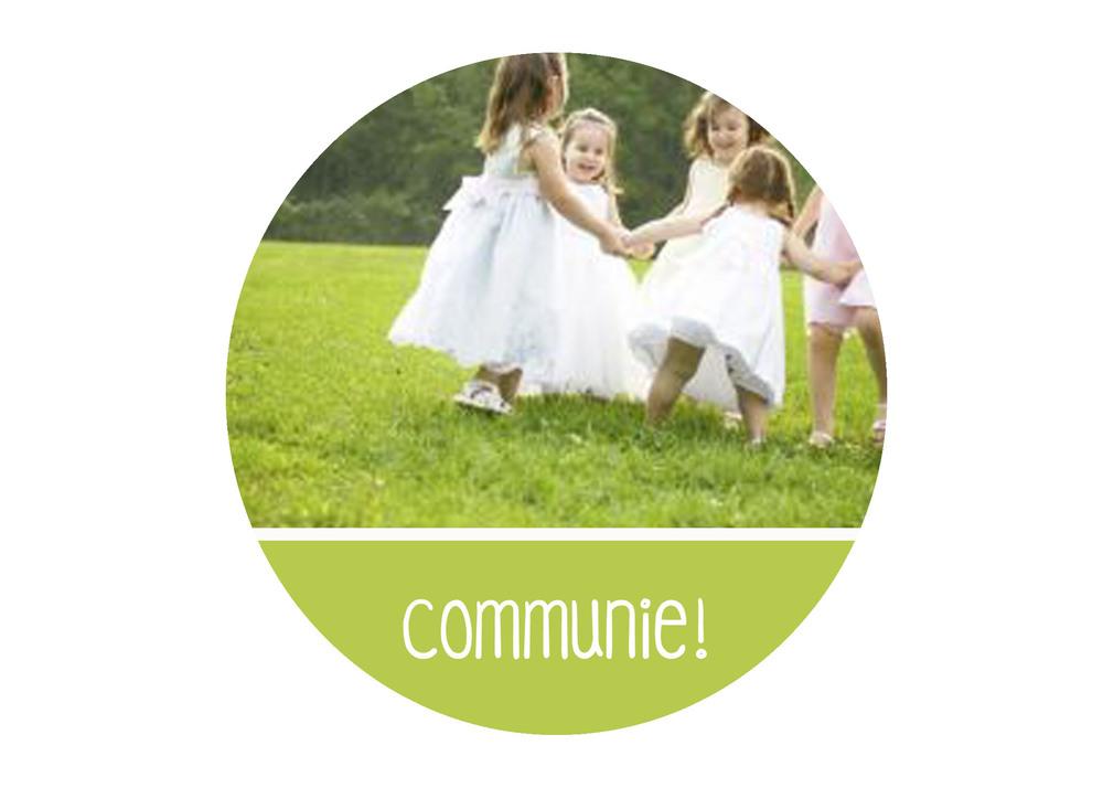 communie communiefeest organiseren