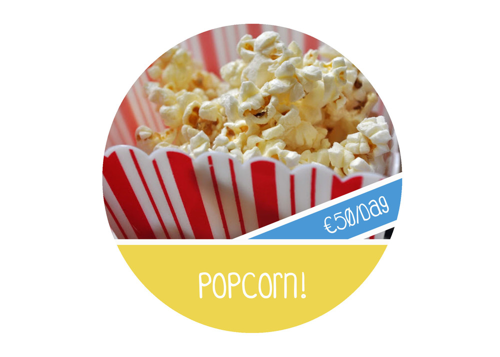 popcornmachine huren huur popcorn