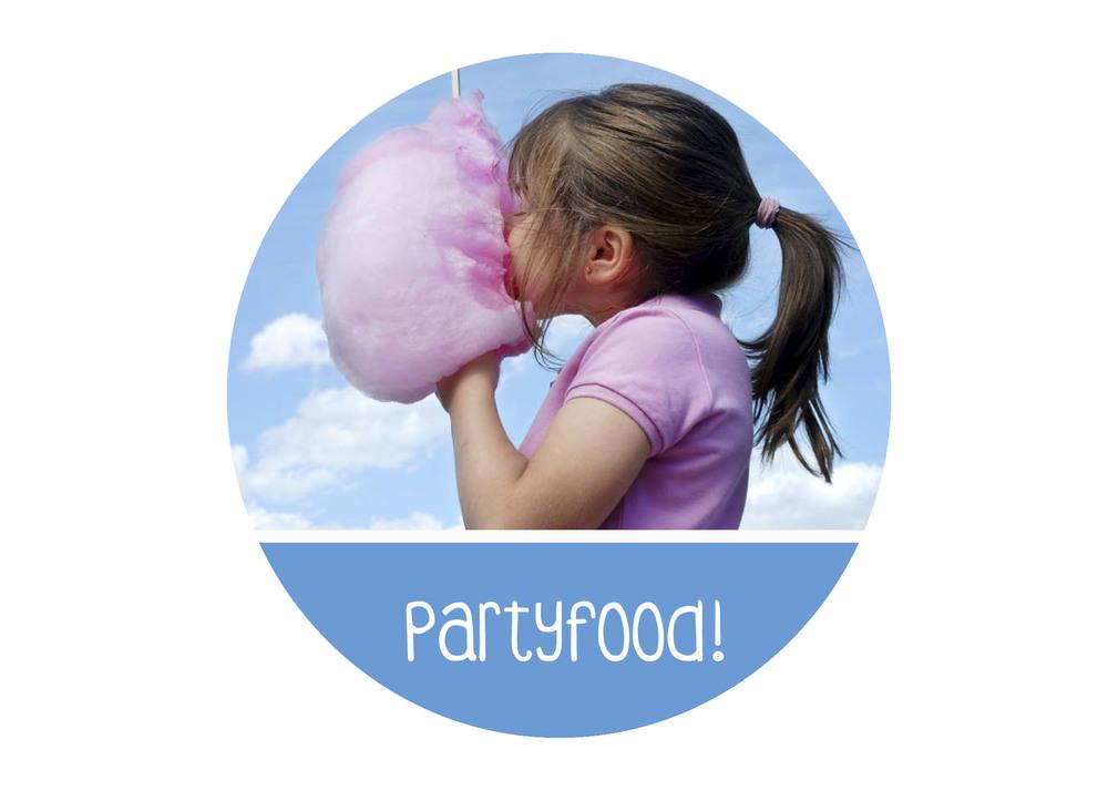 eten feestje organiseren food leuk idee partyfood huur suikerspinmachine popcornmachine