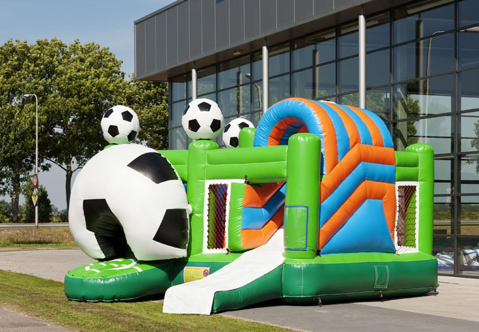 voetbal EK springkasteel huren Antwerpen wommelgem zwijndrecht beveren brasschaat schilde schoten 's gravenwezl