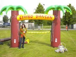 limbo huren opblaasbaar xl game huren Antwerpen