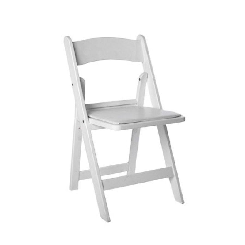 Wedding chair huren trouwfeest witte stoel ceremonie huur