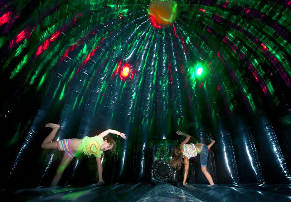 Copy of Disco springkasteel