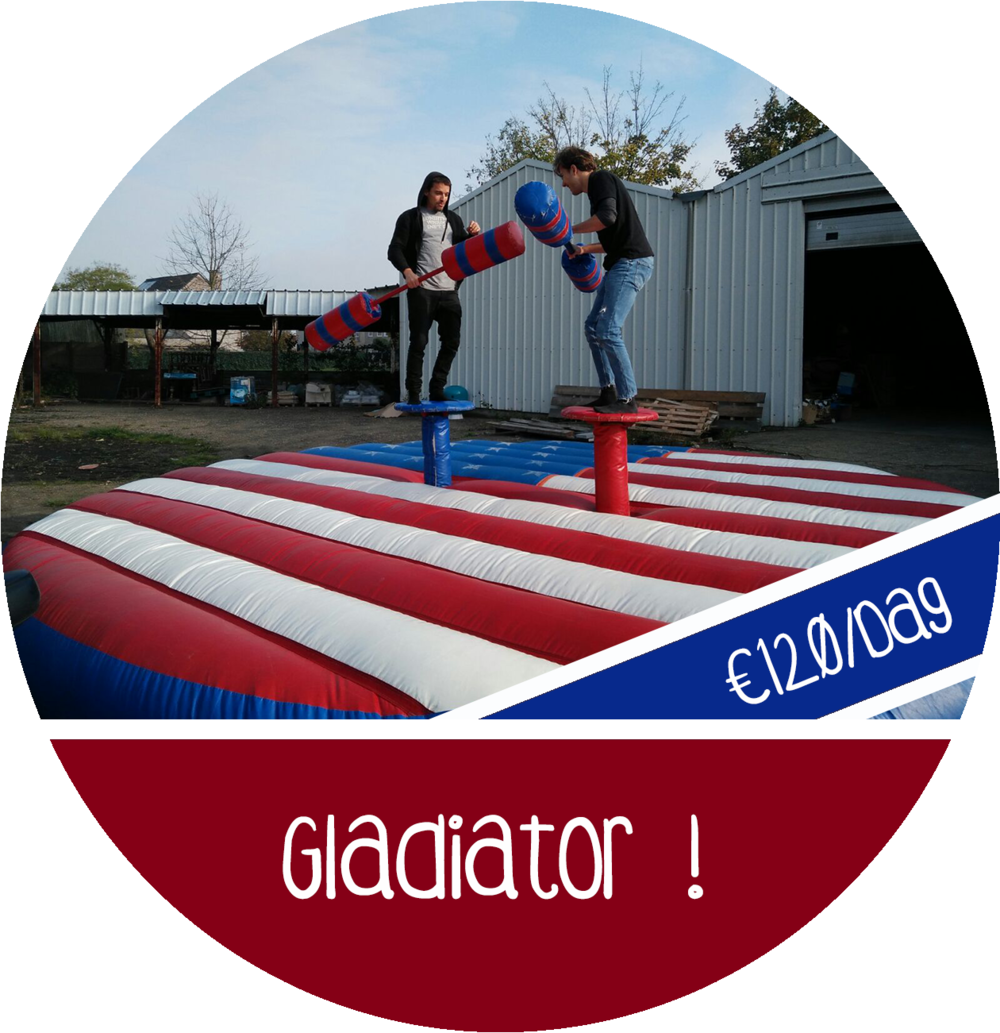 gladiator game spel attractie