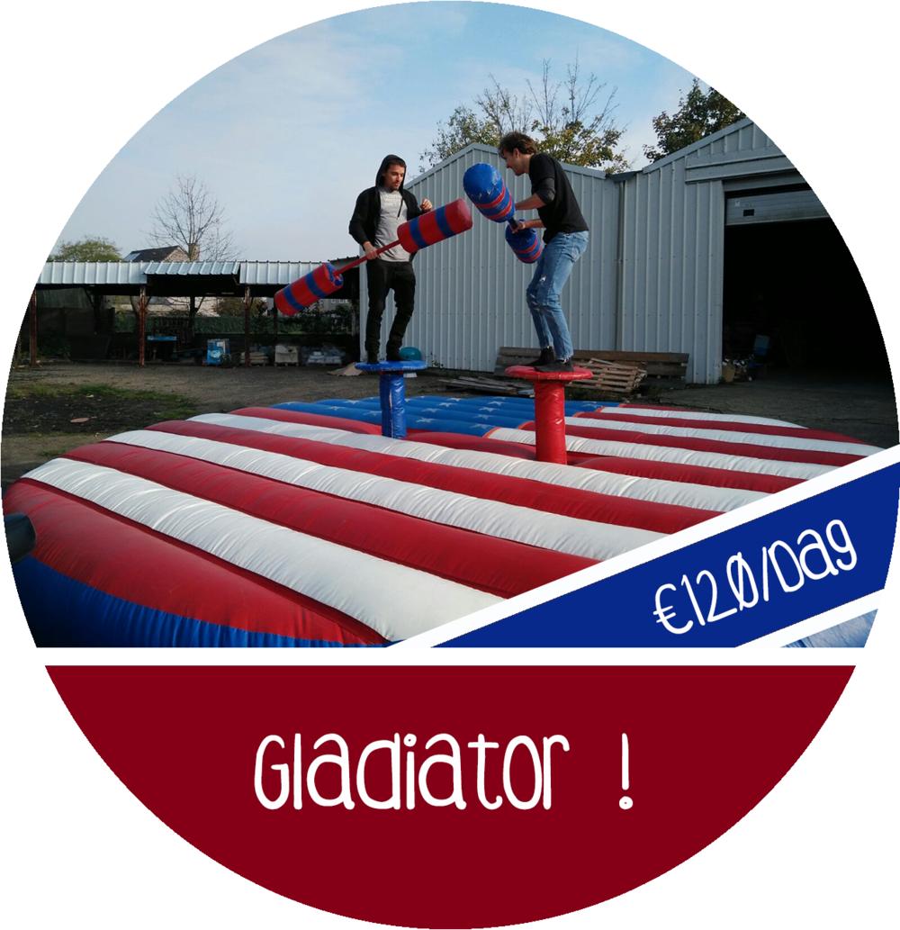 gladiator game spel attractie