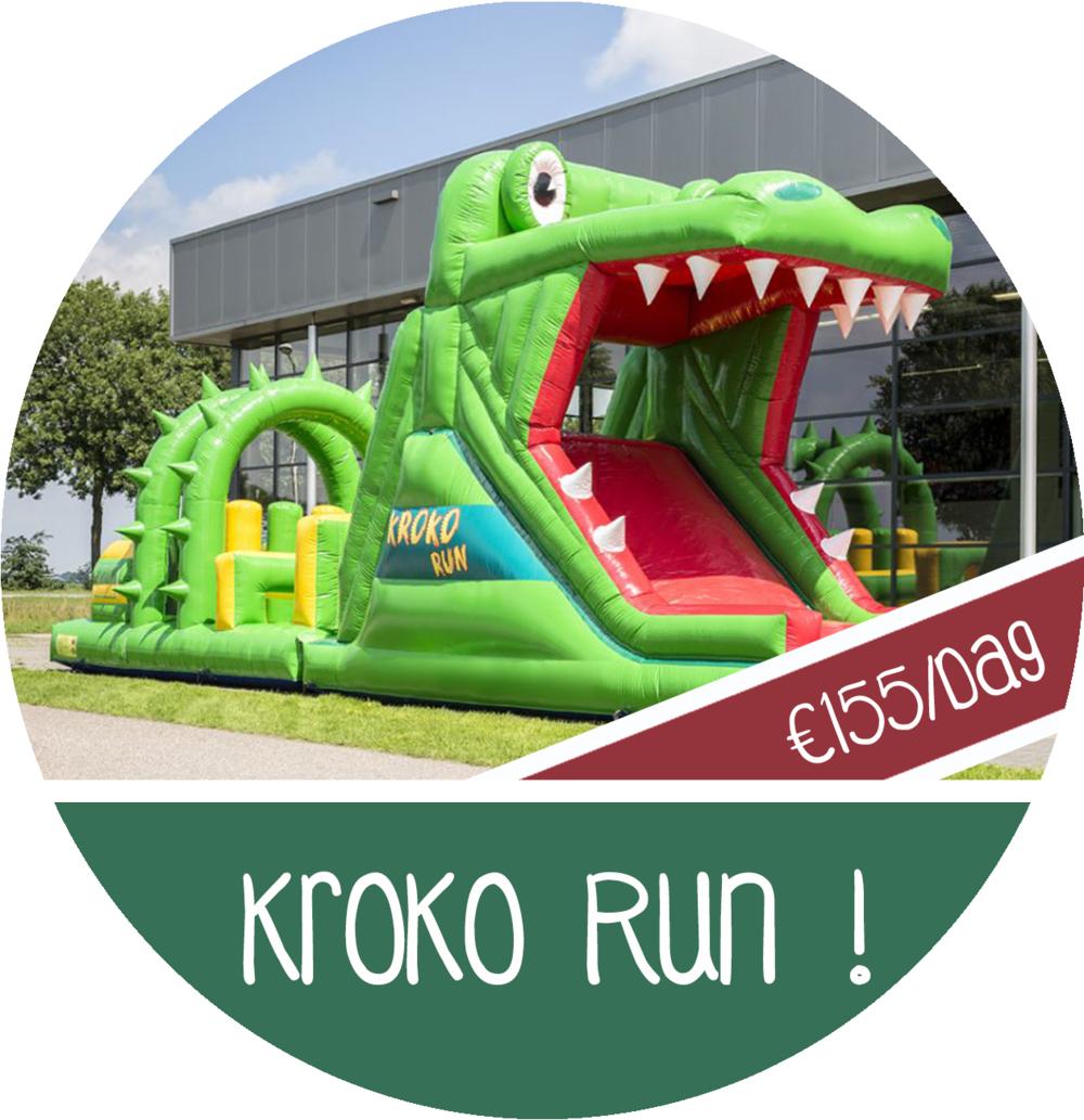 attractie huren stormbaan krokodil