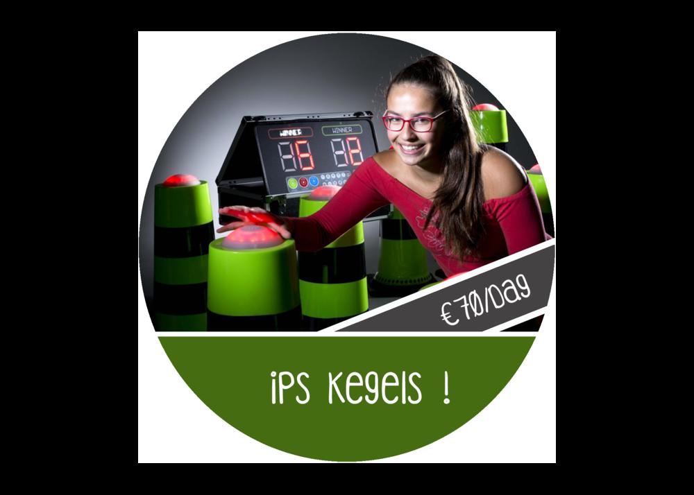 IPS spel kegels huren vehuur antwerpen