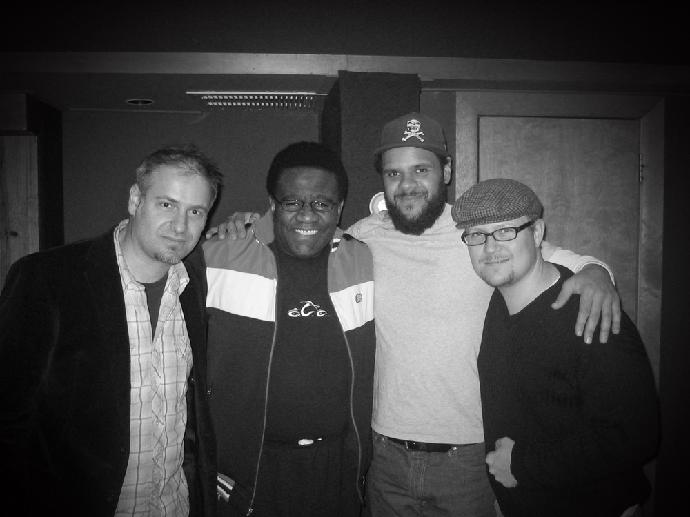 "From the Al Green ""Lay It Down"" session. Neal Sugarman, Al Green, Dave Guy, IHS."