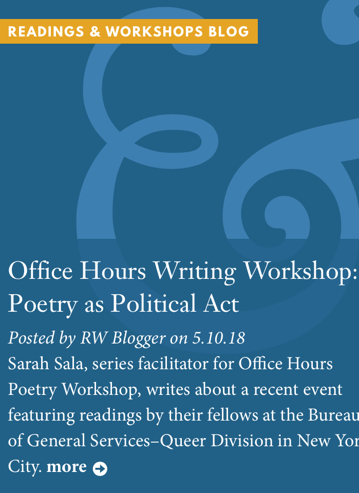 Office Hours Writing Workshop