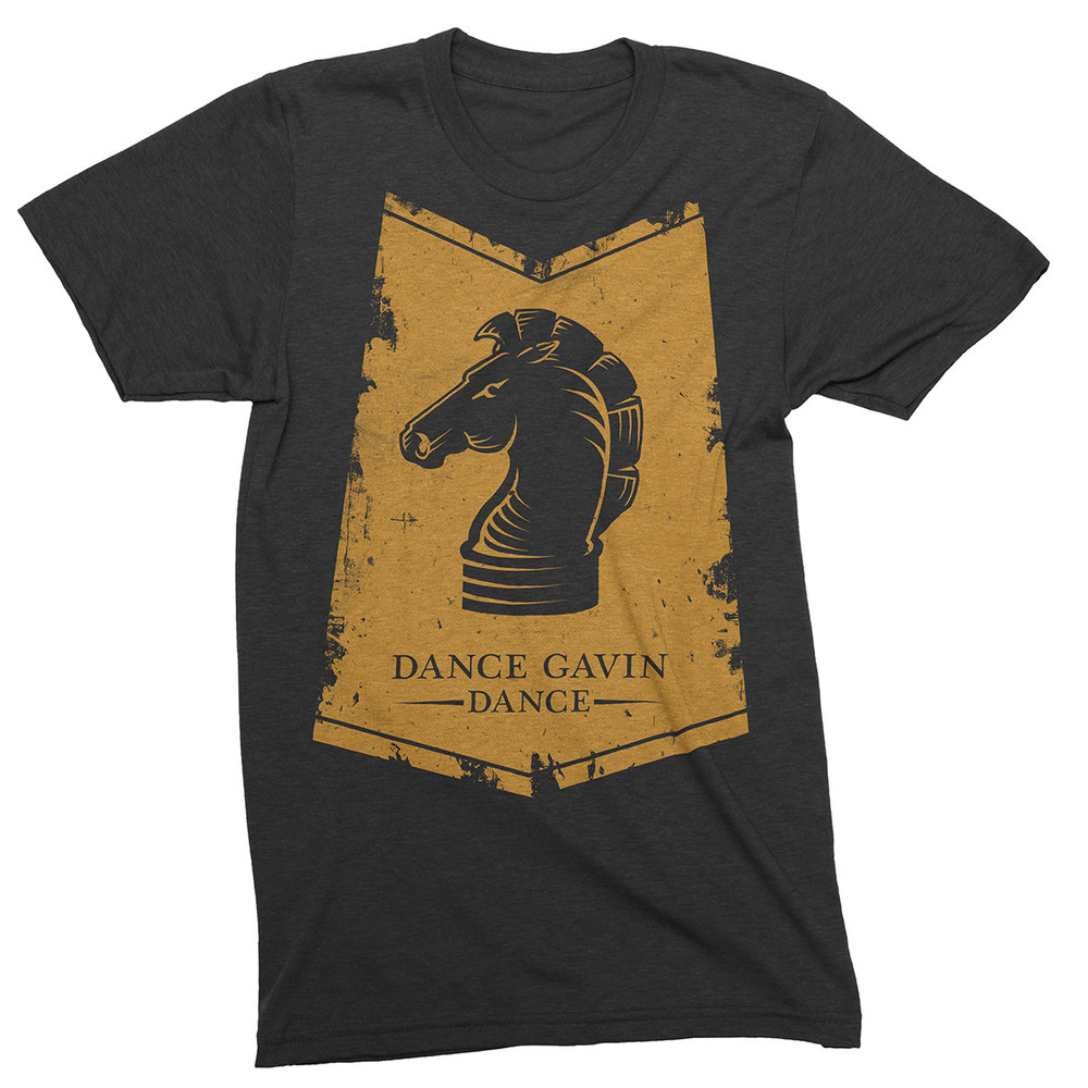 "Apparel Design for ""Dance Gavin Dance"" by Justin Juno 