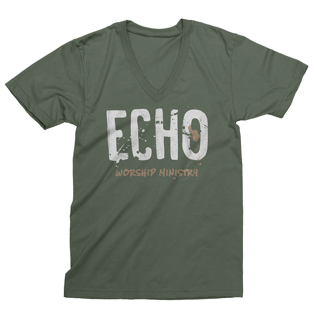 "Apparel Design for ""Echo Worship"" by Justin Juno 