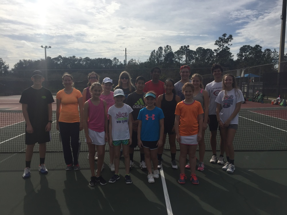 2015 SJTA Christmas Tennis Camp