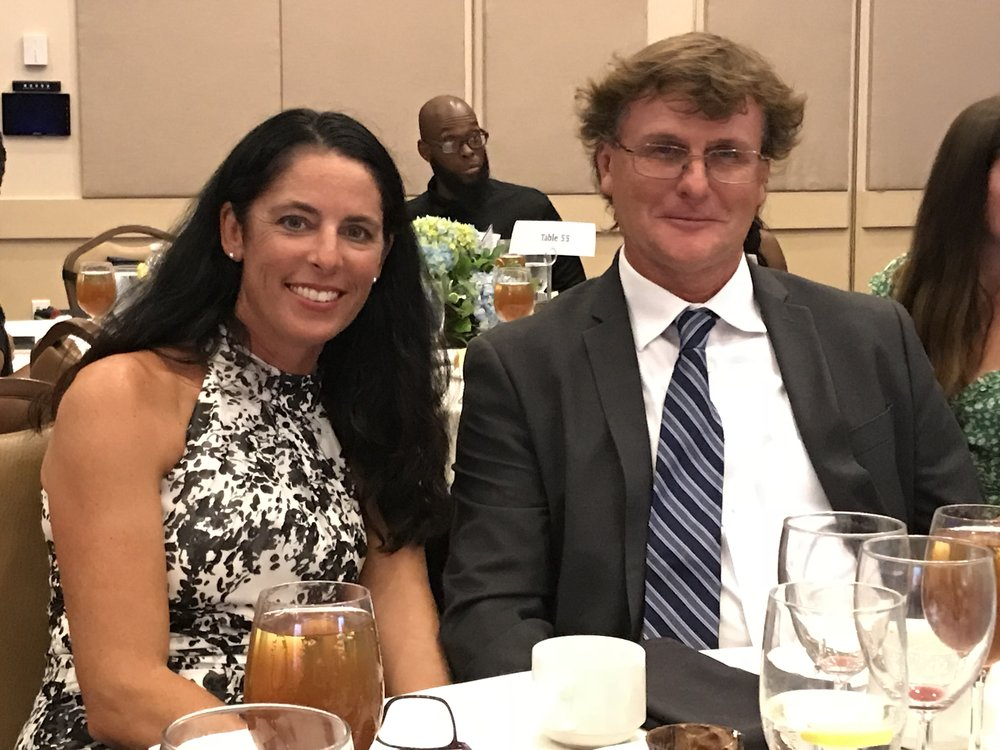Gala dinner fundraiser - Over $200,000 raised for MVWF and their new high school tennis facility, a second edition tennis center for tennis and education.