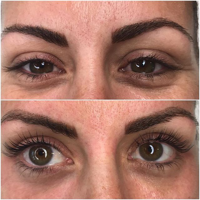 Seriously??? 😍😍😍 Wider and BRIGHTER! The lash lift should be on your early Christmas list this year. Early as in... Now.. before the holidays start! 🎃🎄