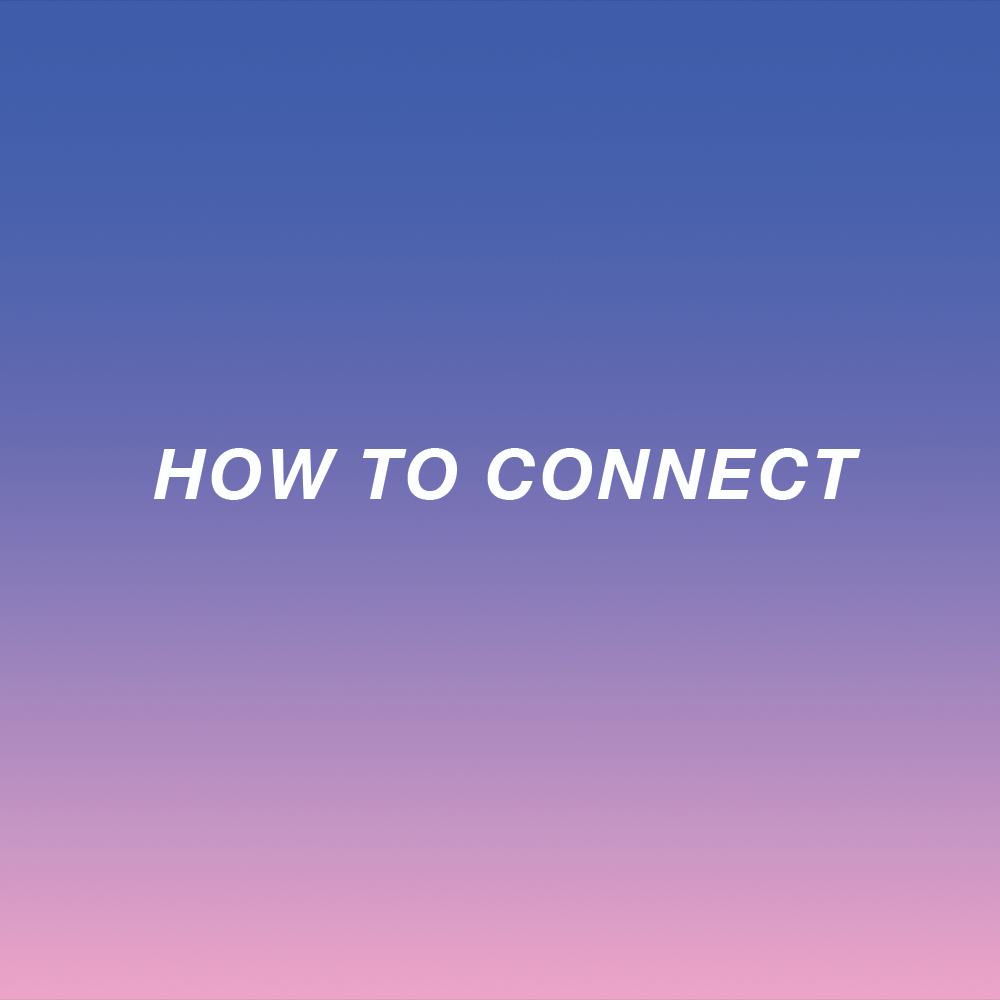 HOW TO CONNECT Interactive Installation