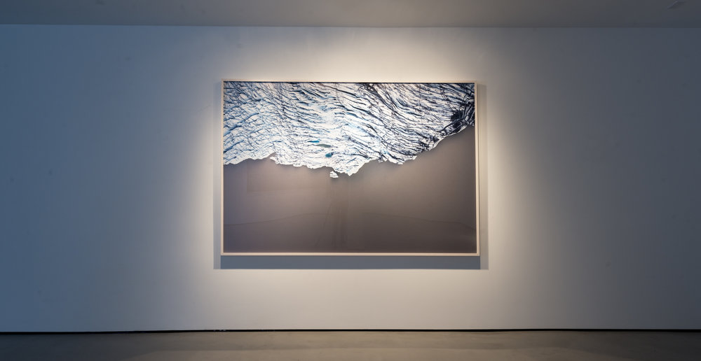 Hydrogeographies # 5610, 60X90 inches, Pigment Print