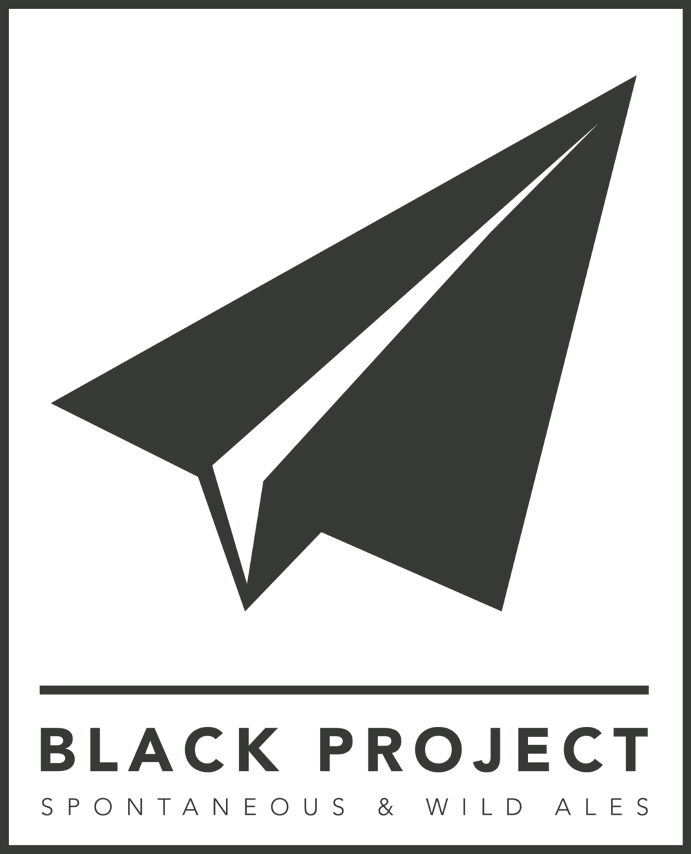 Black Project Spontaneous & Wild Ales Logo