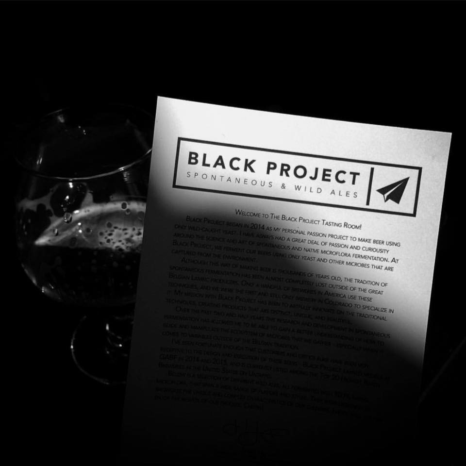 Black Project Spontaneous & Wild Ales