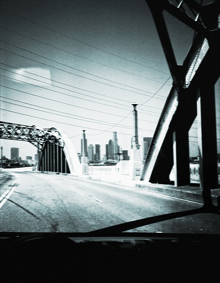 Whether it be Hip-Hop, or that underground sound only a few know and appreciate....it's all a moment in time.  Driving past the 6th street bridge from Boyle Heights to DTLA definitely has that same feeling.