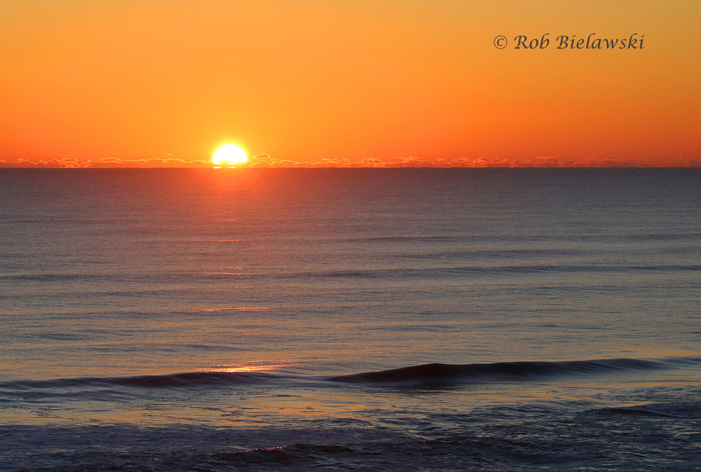 Valentine's Day sunrise from the Comfort Inn - Nags Head, North Carolina!