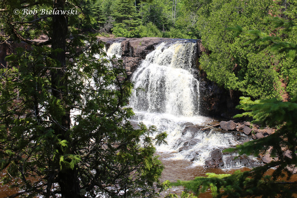 Gooseberry Falls along the north shore of Lake Superior on 4th of July!