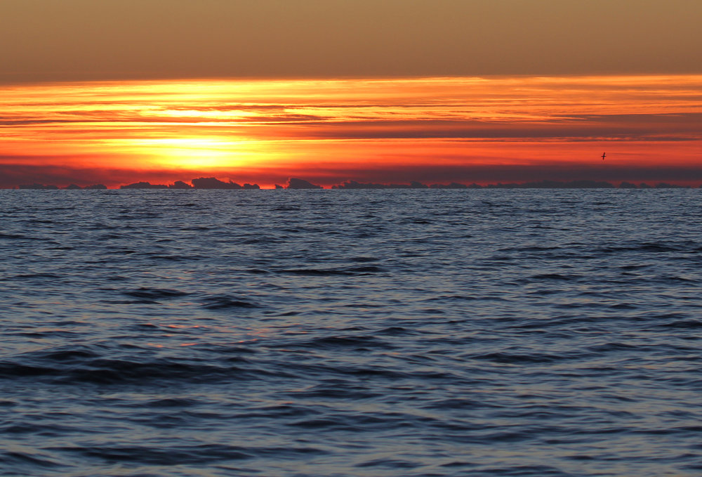 Sunrise / 26 Jan / Offshore Virginia Beach Waters