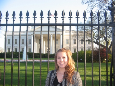Washington, DC -Spring 2004. College blonde hair and all.
