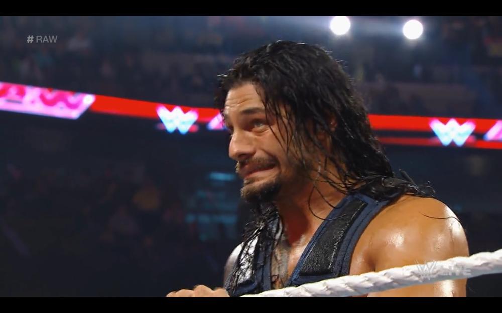 Roman Reigns. WWE powerhouse.
