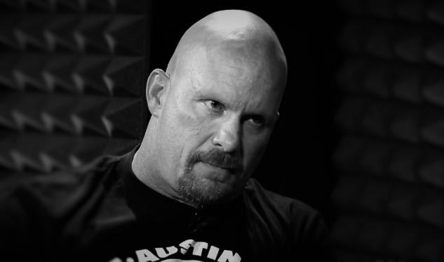 Stone Cold Steve Austin gives Vince McMahon the death stare when discussing whether or not The Macho Man Randy Savage would be inducted into the WWE Hall of Fame. Last night on RAW it was finally confirmed Savage would be inducted later this year.