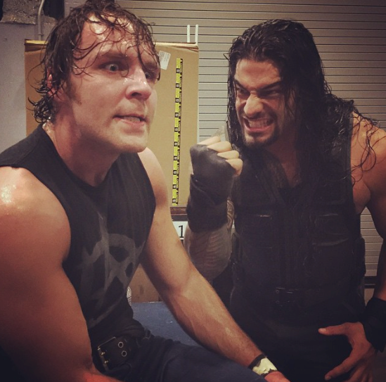 Why bother posting this picture if there no real intention behind it, WWE?