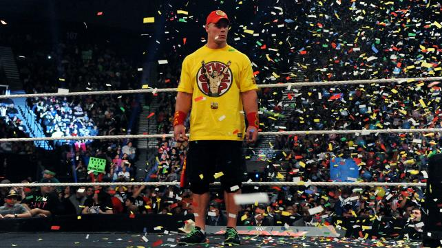 John Cena learns that Dolph Ziggler, Erik Rowan, and Ryback have been fired.