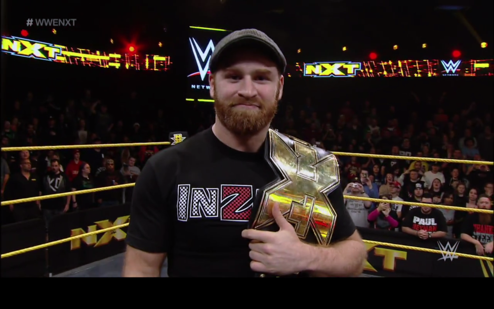 I'm unapologetically looking forward to whatever Sami Zayn'snext tee-shirt will be.