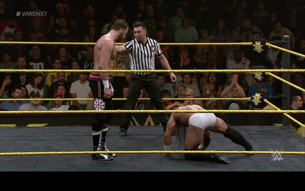 Sami Zayn vs Adrian Neville.