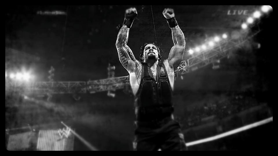 Roman Reigns, WWE Superstar.