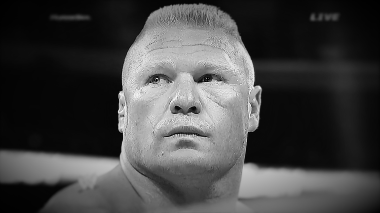 Brock Lesnar. SummerSlam 2014. Via WWE Network.