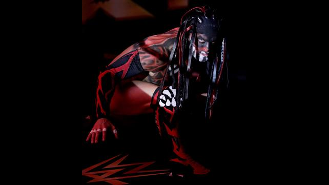 Finn Balor in his war-paint.