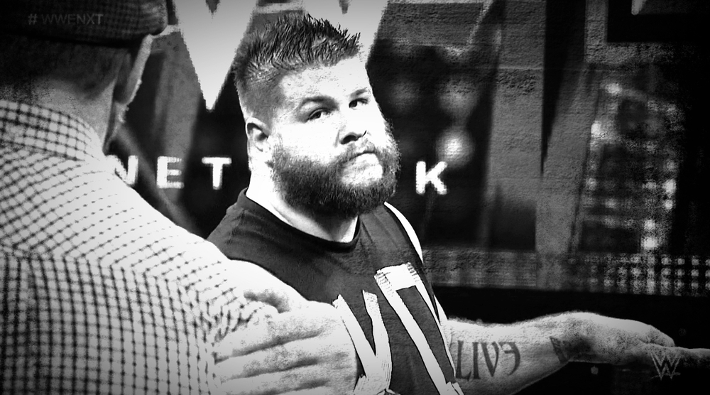KEVIN OWENS. NXT CHAMPION.
